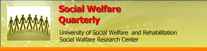 Social Welfare Quarterly26